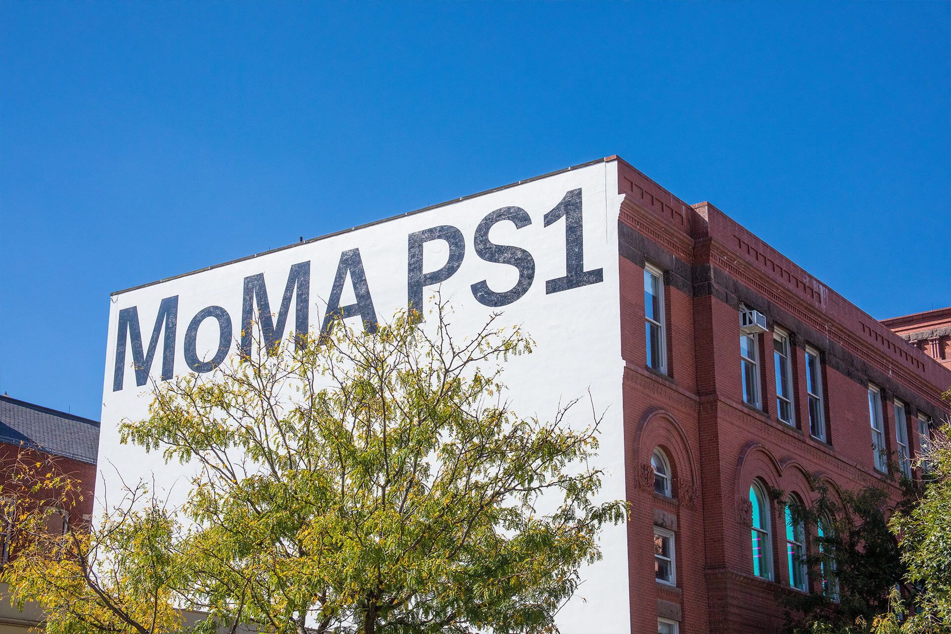 Exterior of MoMA PS1 building